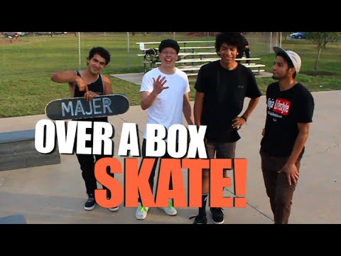 SKATE OVER A BOX