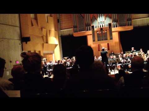 University of Vermont Concert Band: Vesuvius, By Frank Ticheli