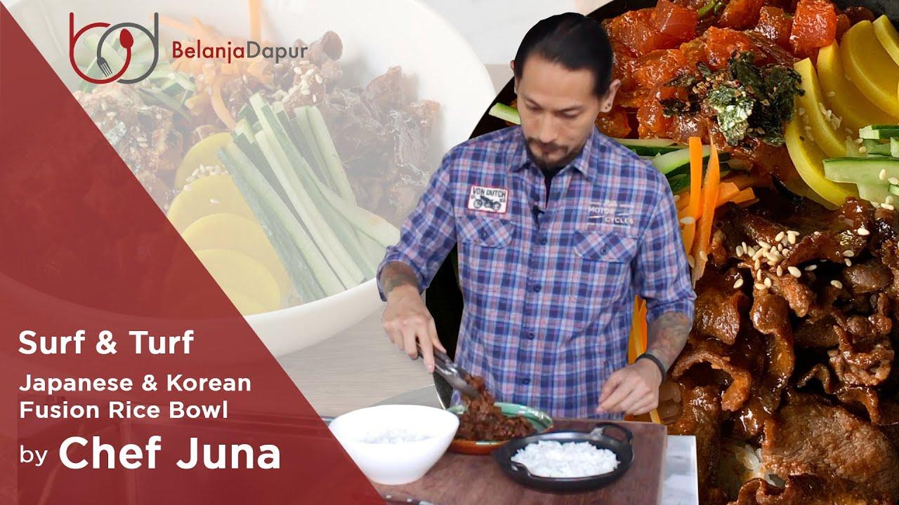 Menu Surf and Turf Ala Kadarnya Versi Chef Juna - MEVVAH