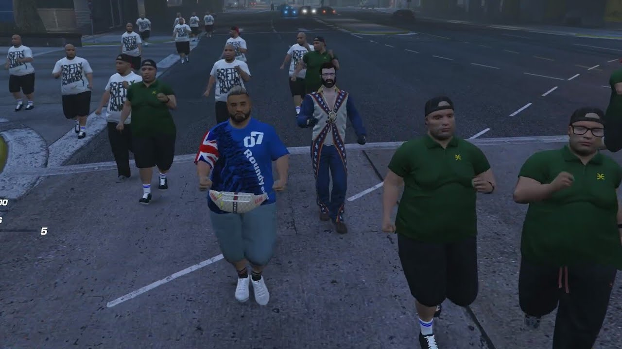 Download Roundy Buffet leads an Army of Fat People to MRPD (NoPixel Public)