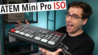 ATEM Mini Pro ISO and Streaming Bridge | Why I'm so excited!