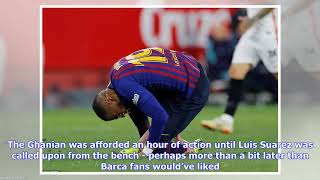 111dbdb32 Football fans react to Kevin-Prince Boateng s La Liga debut for Barcelona