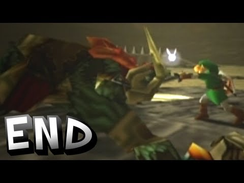 Zelda: Ocarina of Time   The End - Hero of Anti-Gravity!?