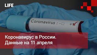 Коронавирус в России. Данные на 11 апреля