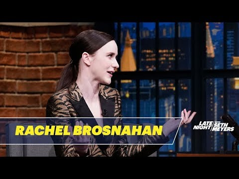Rachel Brosnahan Reacts to Cecily Strongs Impersonation of Her on SNL