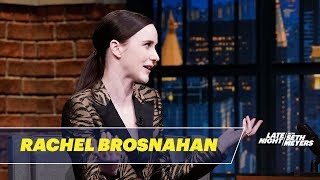 Rachel Brosnahan Reacts to Cecily Strong's Impersonation of Her on SNL