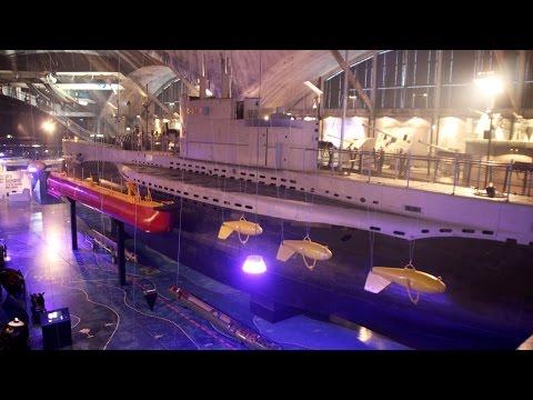 Seaplane Harbour/Lennusadam, Estonian Maritime Museum, Tallinn, Estonia