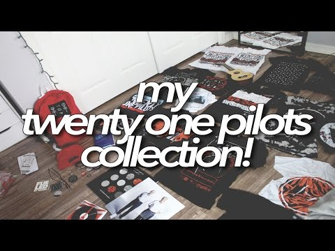 My twenty one pilots collection!