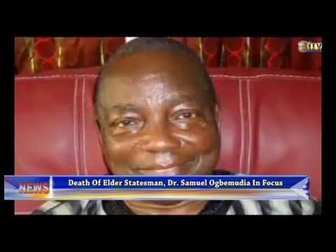 Analysts describe death of Dr. Ogbemudia as a great loss