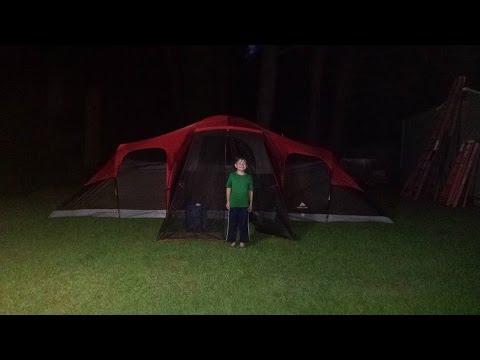 $99 Ozark Trail 10 Person Tent from Walmart