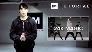 24k magic bruno mars 1million dance tutorial