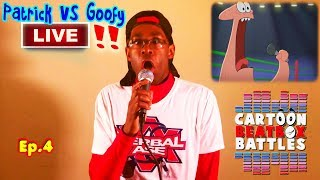 Patrick Vs Goofy - Cartoon-Beatbox-Battles Live