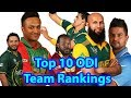 khulnawap.com - Top 10 ODI Team Rankings 2018||Top 10 ODI Cricket Teams with ICC Ranking 2018