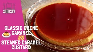 Classic Creme Caramel Re¢ipe | Steamed Caramel Custard Pudding with no cream | No oven