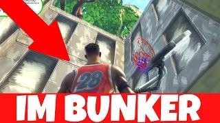 WAILING WOODS BUNKER OPEN - REIN AND RAUS 🚘 FORTNITE GLITCH