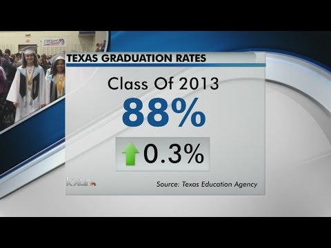 Texas' 2013 on-time graduation rate 88 percent