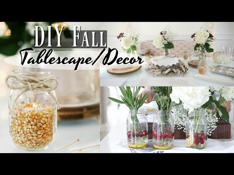 How To Assemble A Buffet - Floral Arrangements, DIY Decor & More! iHeartFall ep 11- MissLizHeart