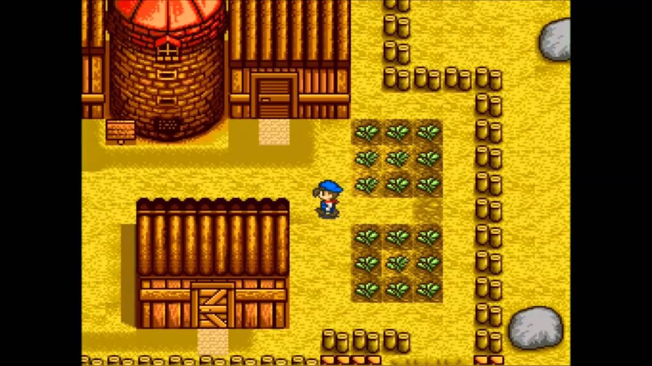 Let's Play Harvest Moon (SNES) part 09 - Cave Exploration