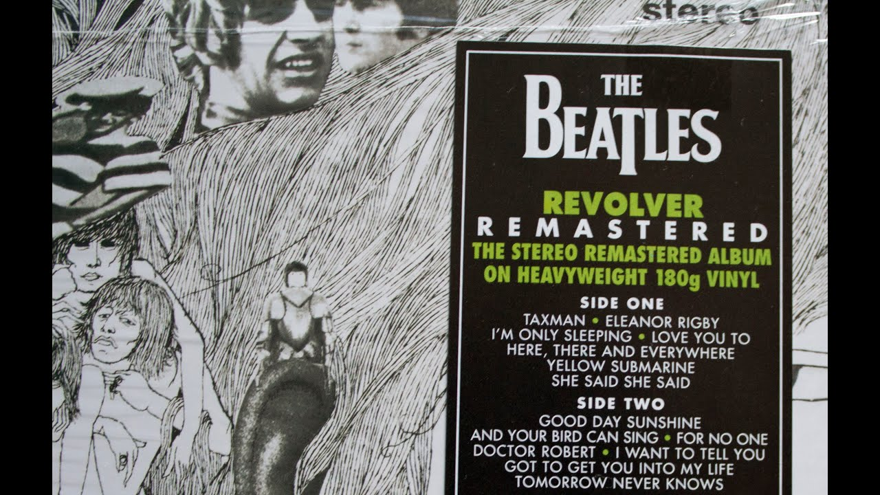 Crate Digging The Beatles Quot Revolver Quot Vinyl Review Youtube