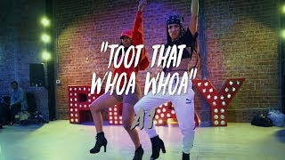 A1 - &quotToot That Whoa Whoa&quot Nicole Kirkland &amp Aliya Janell Collaboration