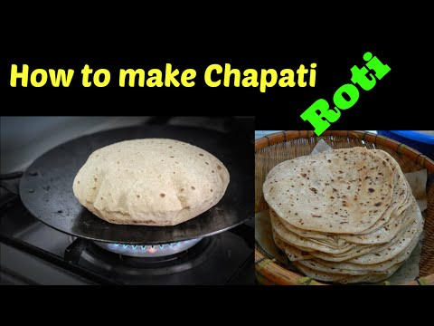 How to make Chapati or Roti - Great for Curry!   Indian Recipes   #CookwithAnisa #recipeoftheday   HuffPost Life
