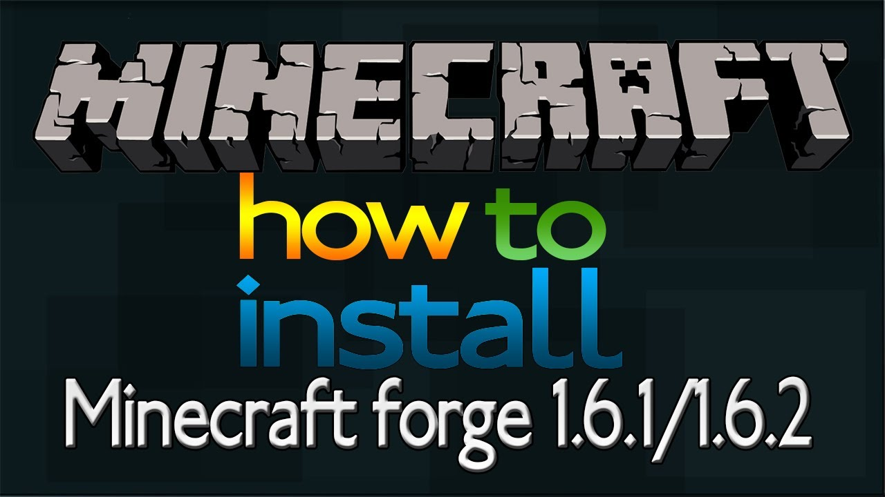 How To Install Minecraft Forge 1 7 2  1 6 4  1 6 2  Quick