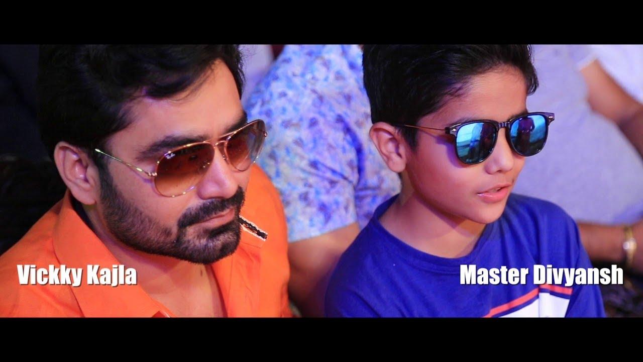 Shyano Ji   Live performance by Vicky Kajla, Master Divyansh   Ansh Motion Pictures