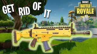 *NEW* GET RID OF IT CHALLENGE! Fortnite: Battle Royale!