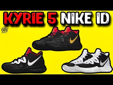 Designing the Nike Kyrie 5 on NIKEID