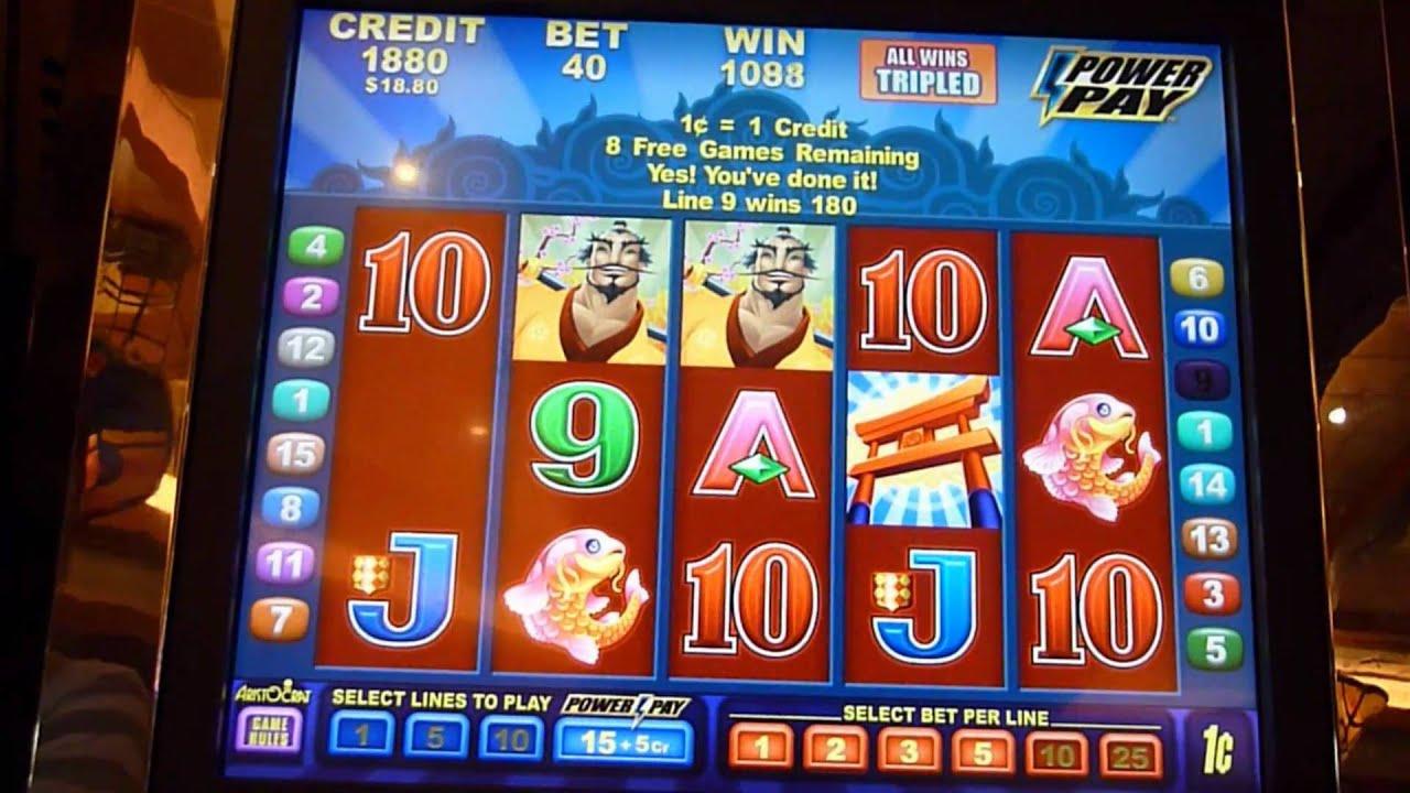 Rising Samurai Slot Machine