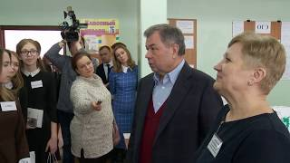 Министр финансов РФ провёл урок в калужской школе