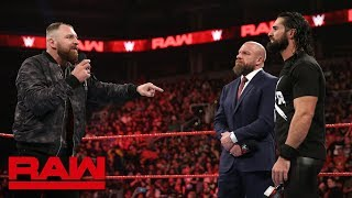 Dean Ambrose tries to steal Seth Rollins' spotlight: Raw, Jan. 28, 2019