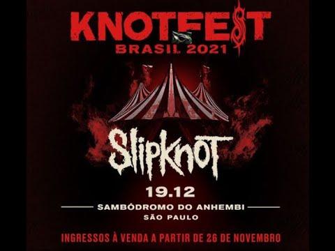 Slipknot announce 2021 'Knotfest Brazil' festival ...!