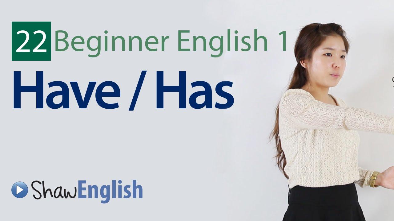 Download English Grammar: Have / Has