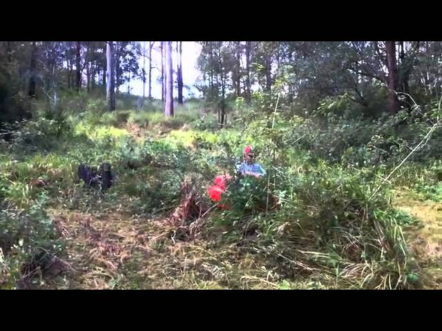 Canycom Australia - RazorBack All Terrain Rideon Brushcutter RazorBack All Terrain Mower