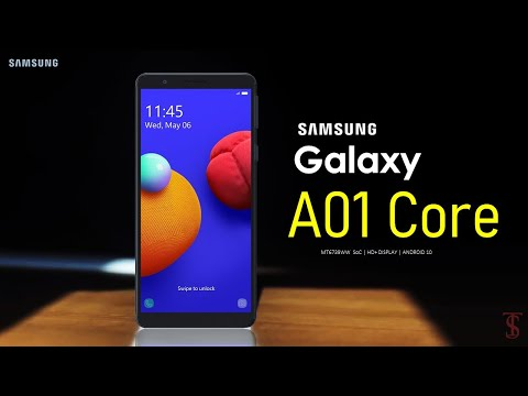 Samsung Galaxy A01 Core First Look, Camera, Design, Key Specifications, Features