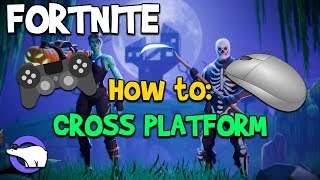 HOW TO CROSSPLAY!! | Fortnite Battle Royale (Working Hunting Rifle Update)