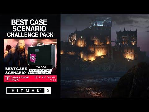 HITMAN 2 - Best Case Scenario Challenge Pack | All Challenges | Unlock ICA Executive Briefcase Mk II