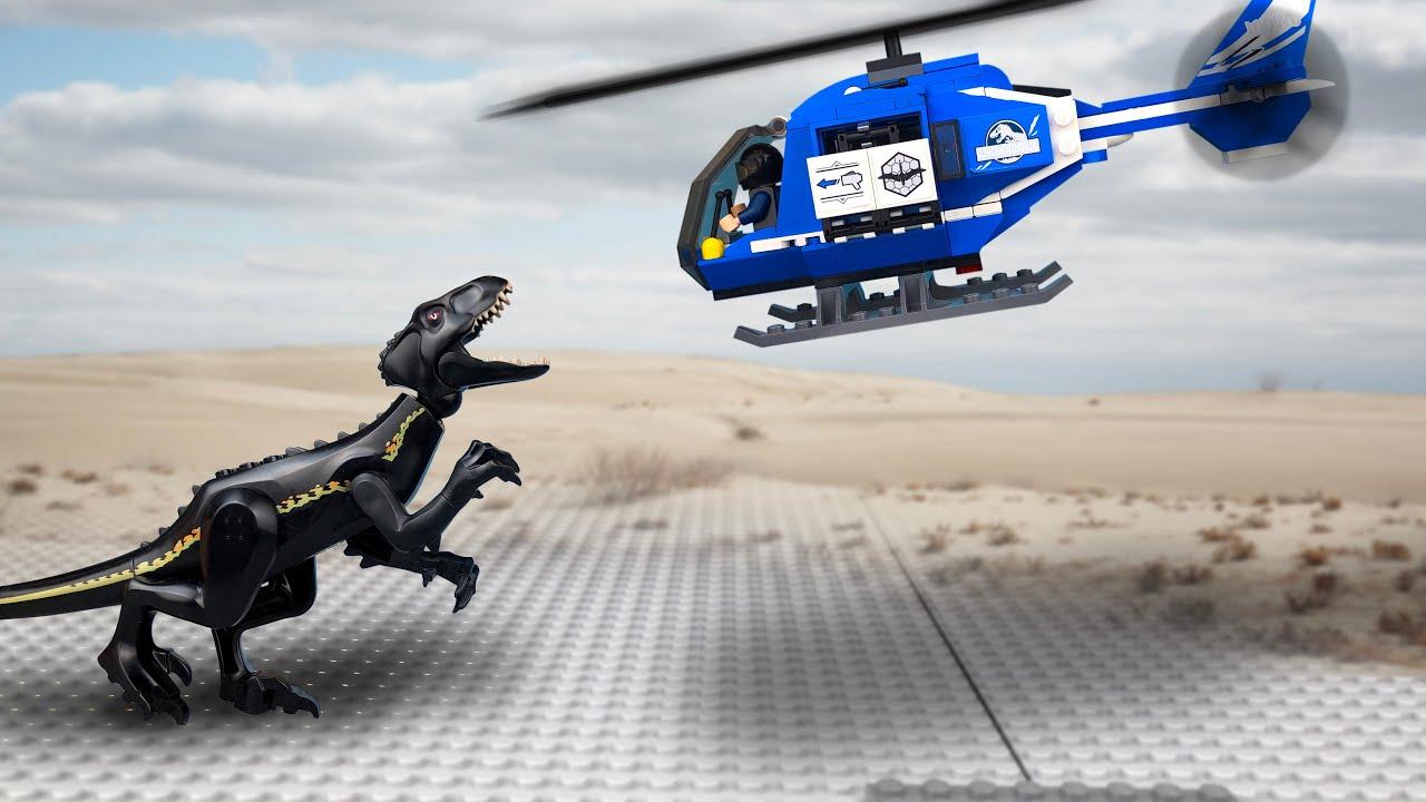 ЛЕГО Истории про ДИНОЗАВРОВ 🔴 Мультики про Динозавров