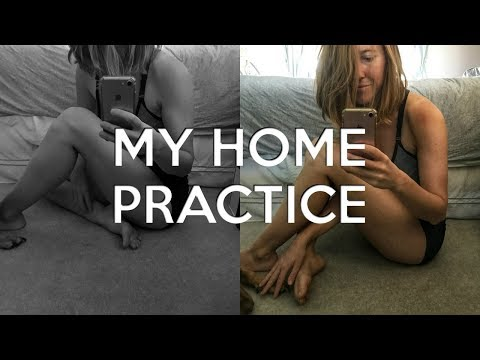 how-i-practice-yoga-at-home