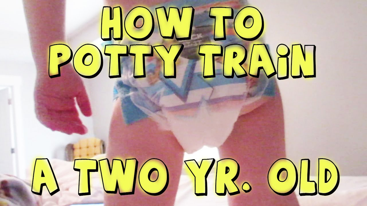 How to train a two year old to potty train girl