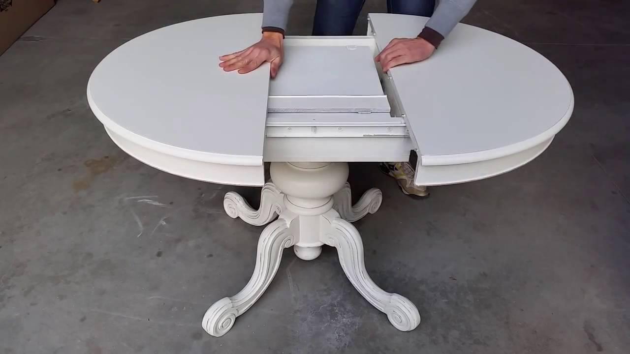 Come funziona il tavolo rotondo allungabile youtube for Tavolo rotondo ikea