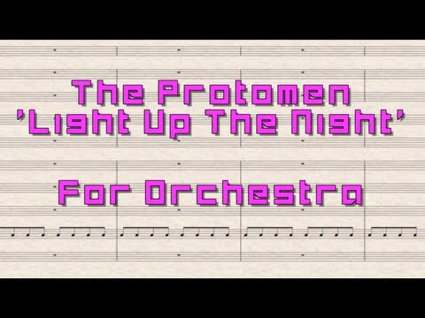 The Protomen 'Light Up The Night' For Orchestra