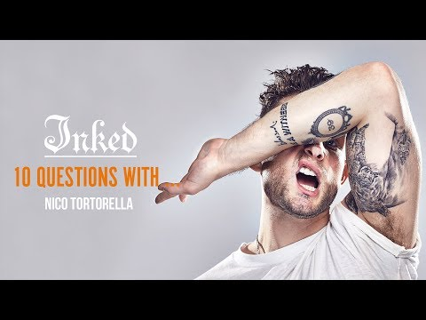 10 Questions with Nico Tortorella  Inked