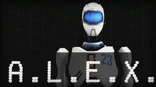A.L.E.X. Level 1-10 Walkthrough