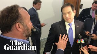 'don't Touch Me': Marco Rubio And Alex Jones Clash