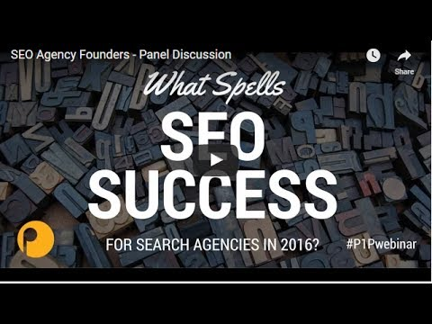 SEO Agency Founders - Panel Discussion