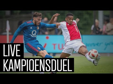 LIVE kampioensduel Ajax O19 - Feyenoord O19