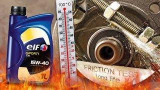 Elf Sporti TXI 15W40 Jak skutecznie olej chroni silnik? 100°C
