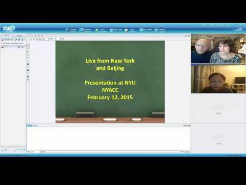 Live from NY & Beijing: why new online ESL program was started